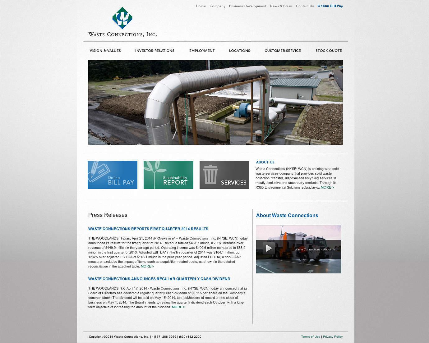 public-services-website-design