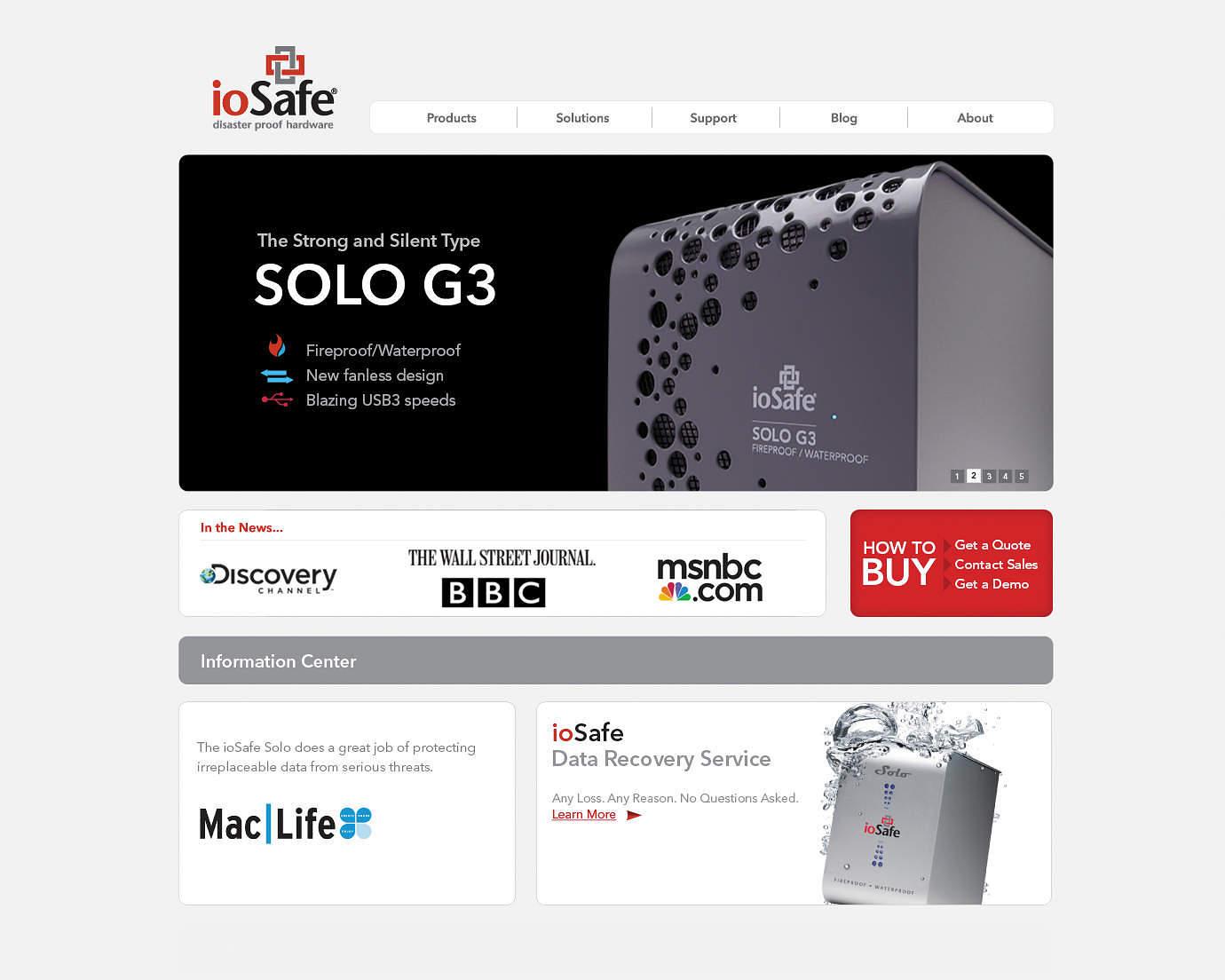 iosafe-computer-hardware-web-design