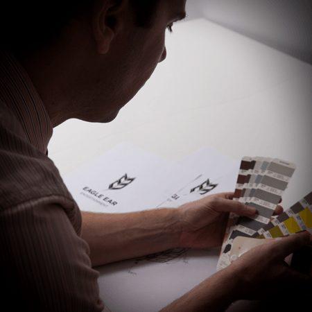 Graphic Designer Roger Cline - Designing a Logo