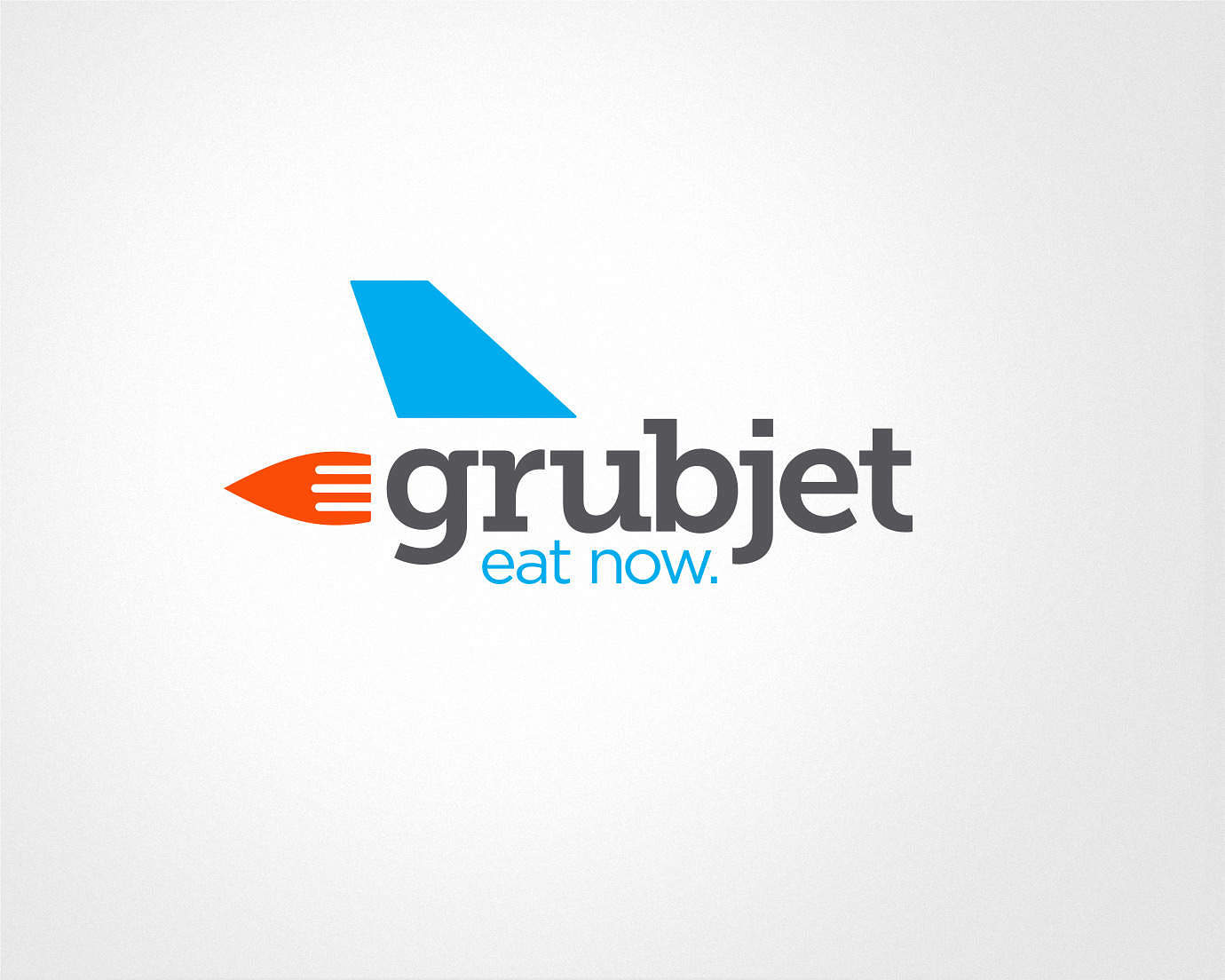 Grubjet Food Delivery Logo