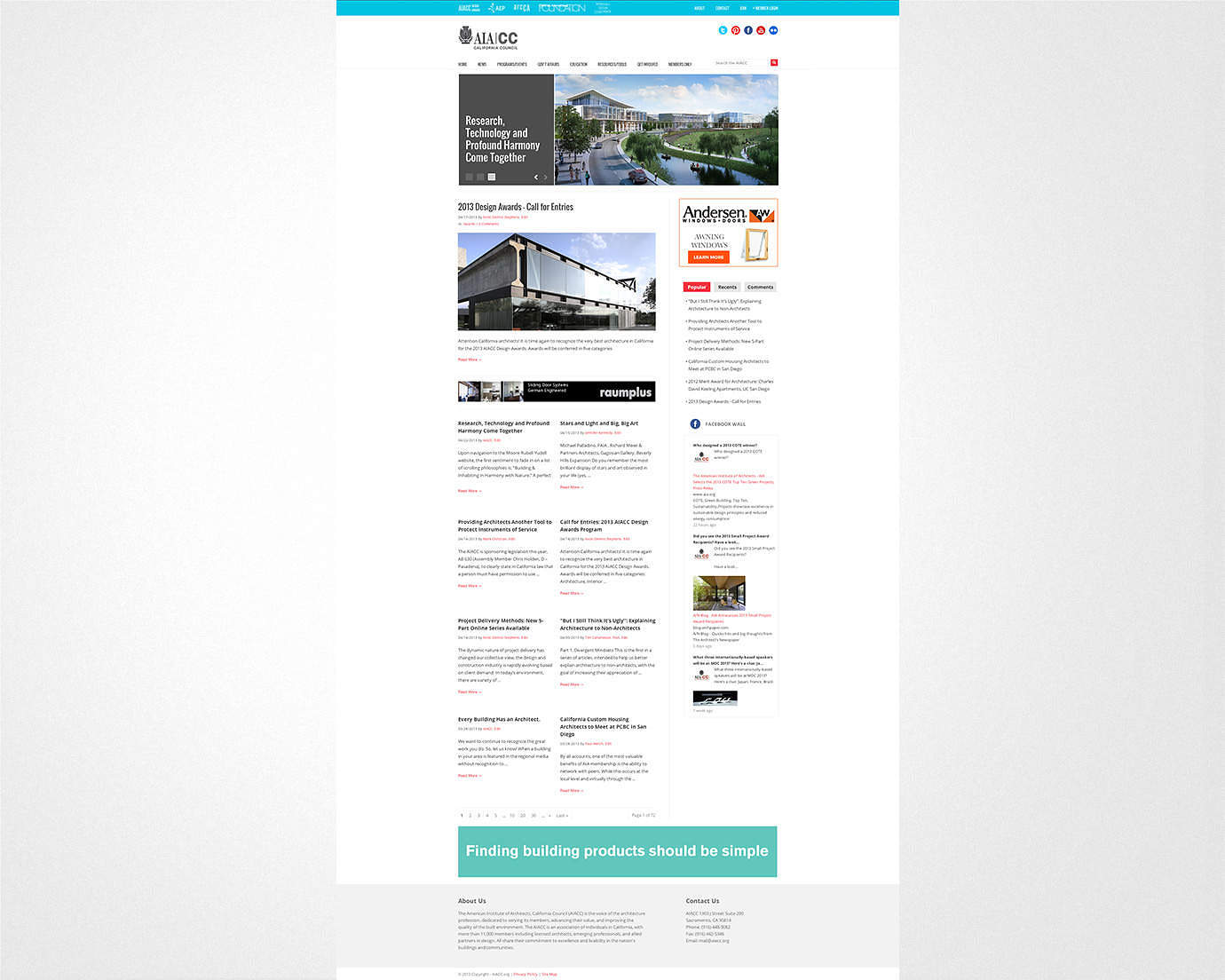 architect-architectural-california-advocacy-website-design