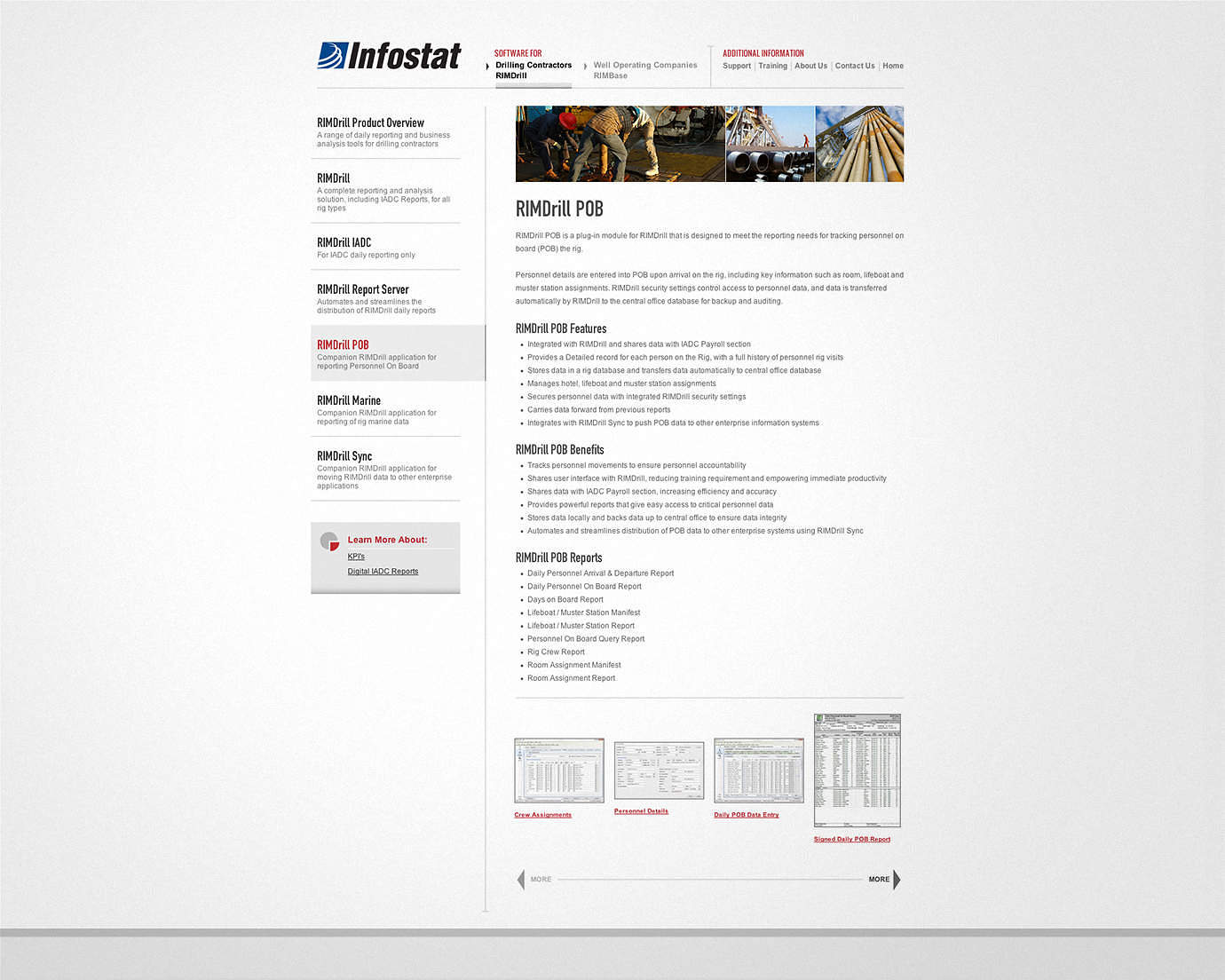 Oil, Gas and Geothermal Industry Web Design & Graphic Design