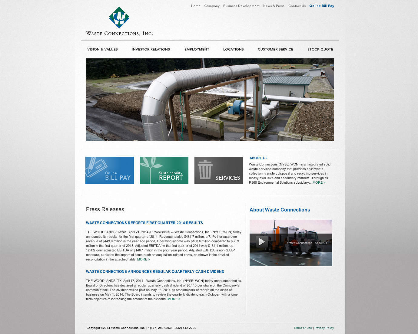 public-services-website-design