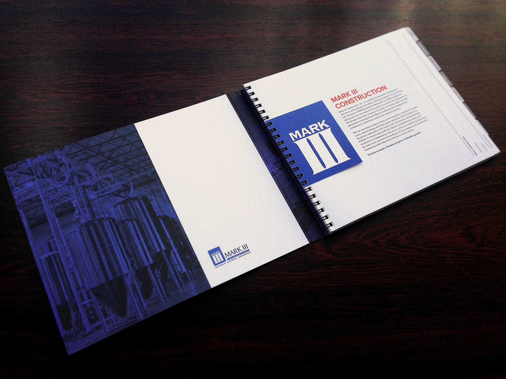 Catalog Design - Booklet Design Construction